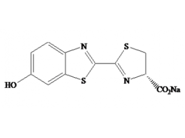 Fig. D-Luciferin, Sodium Salt structure formula