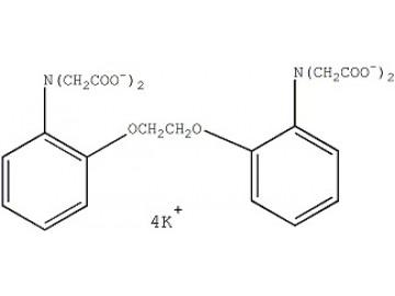 Fig. BAPTA, tetrapotassium salt structure formula