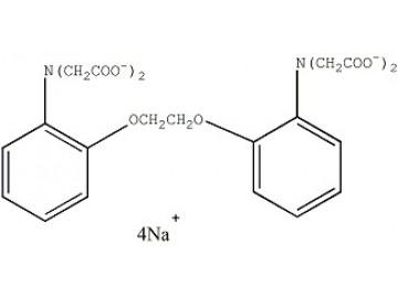 Fig. BAPTA, tetrasodium salt structure formula
