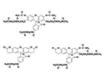 Fig. BCECF, AM ester structure formula