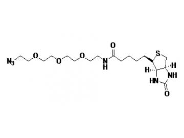 Fig. Biotin Azide structure formula