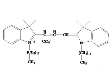 Fig. DiI (DiIC18(3)) structure formula