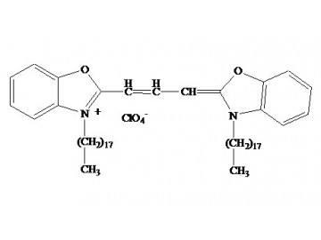 Fig. DiO(DiOC18(3)) structure formula