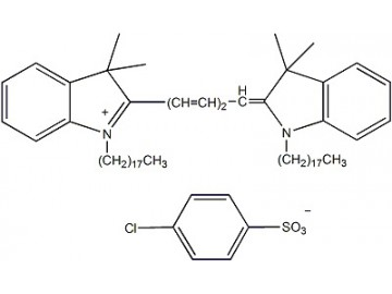 Fig. DiD (DiIC18(5)) structure formula