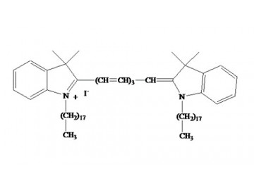 Fig. DiR (DiIC18(7)) structure formula