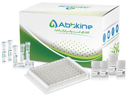 Fig.2. EliKine™ fT3 ELISA Kit is a competitive ELISA to quantitate fT3 in samples.