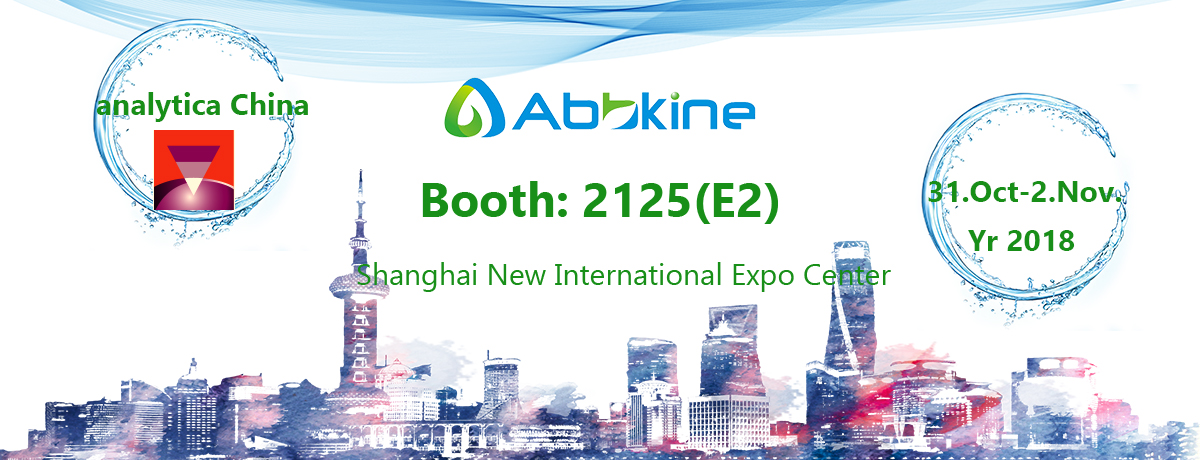 Abbkine invites you to visit us at analytica China in Shanghai